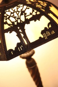 Antique lampshade